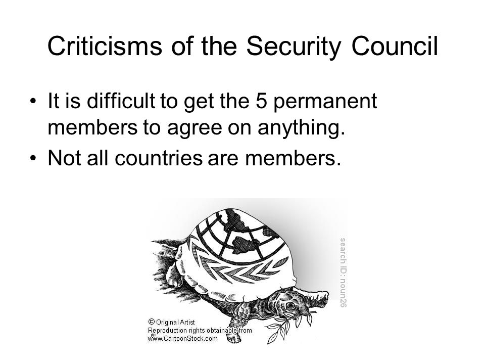 Criticisms of the Security Council