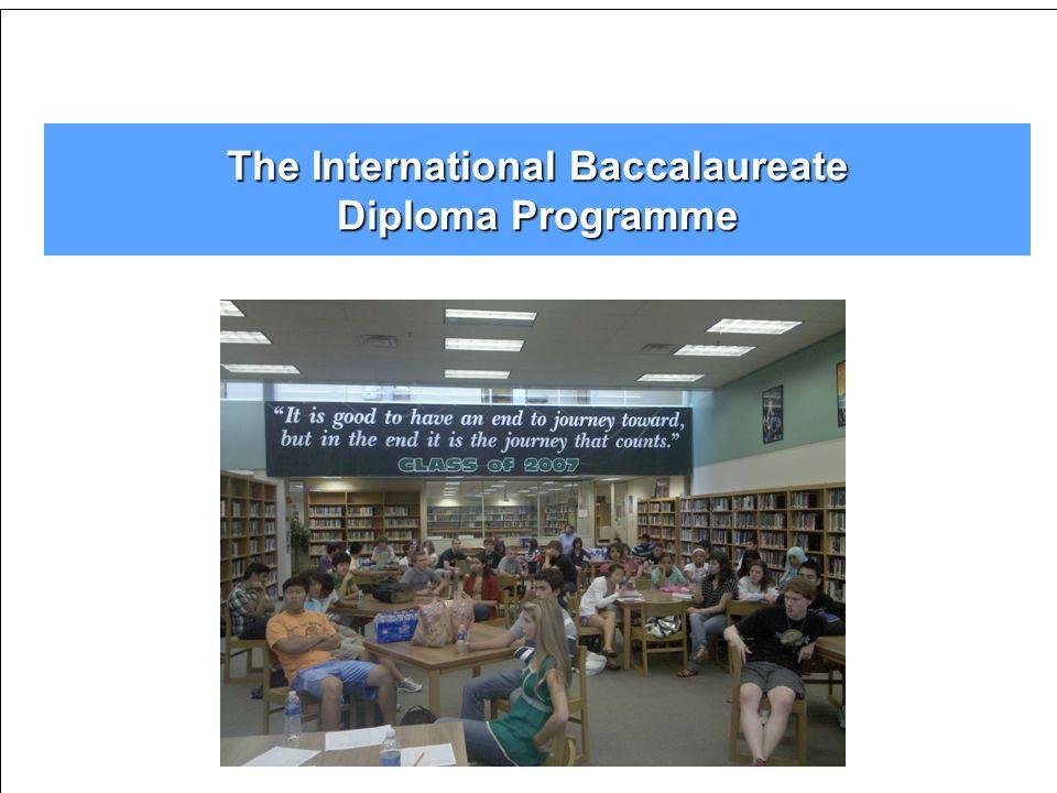 The International Baccalaureate