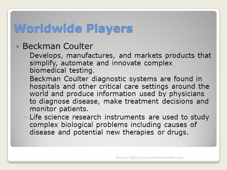 Worldwide Players Beckman Coulter