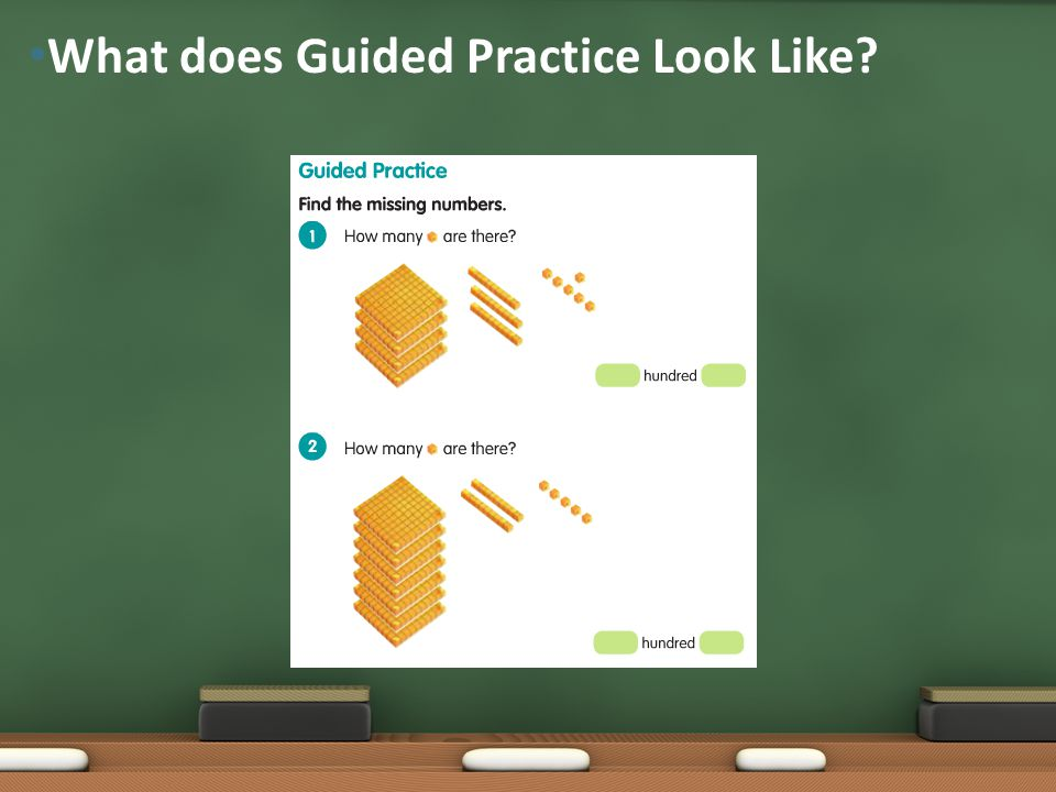 What does Guided Practice Look Like