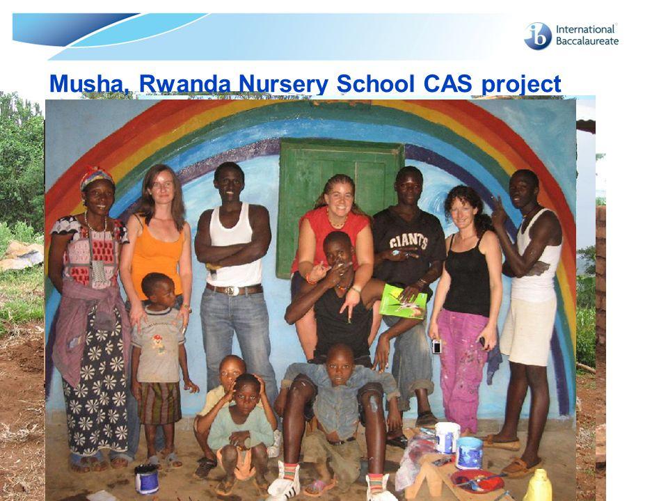 Musha, Rwanda Nursery School CAS project