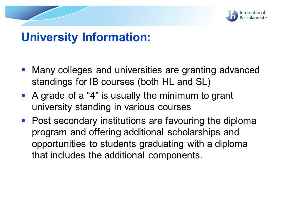 University Information: