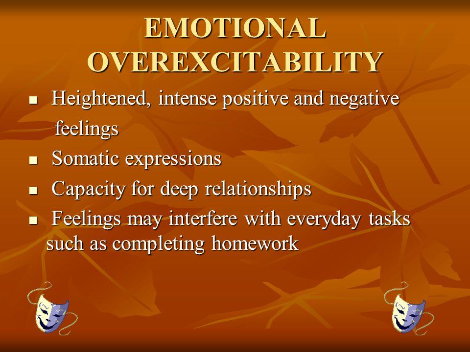 EMOTIONAL OVEREXCITABILITY