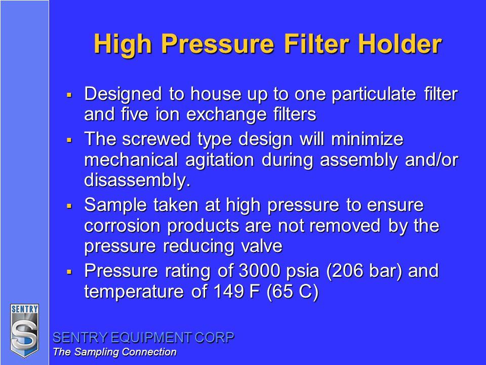 High Pressure Filter Holder