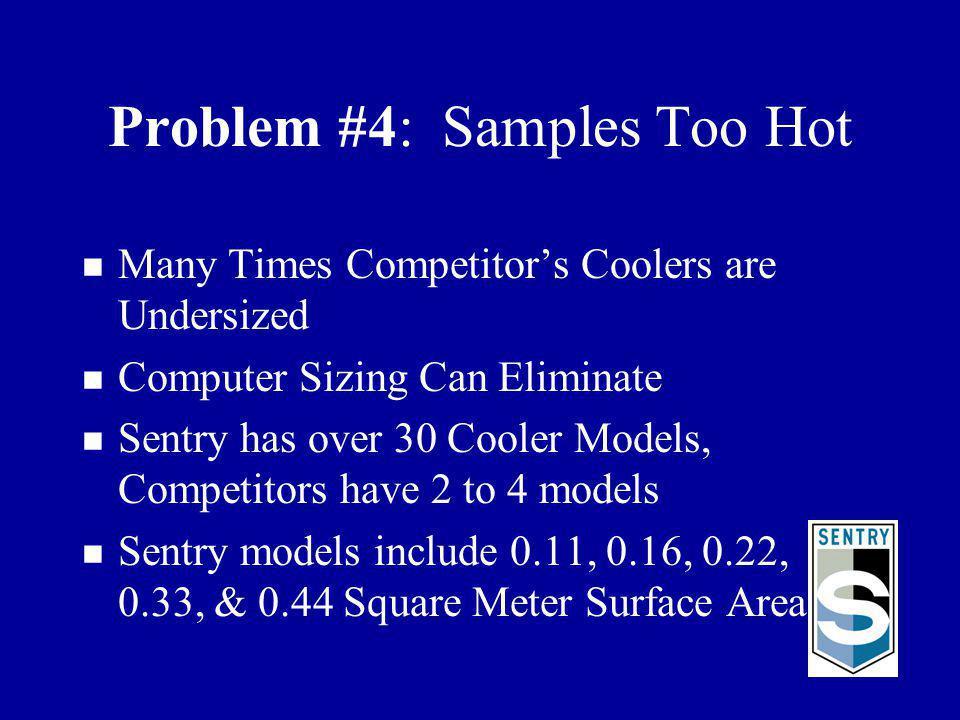 Problem #4: Samples Too Hot