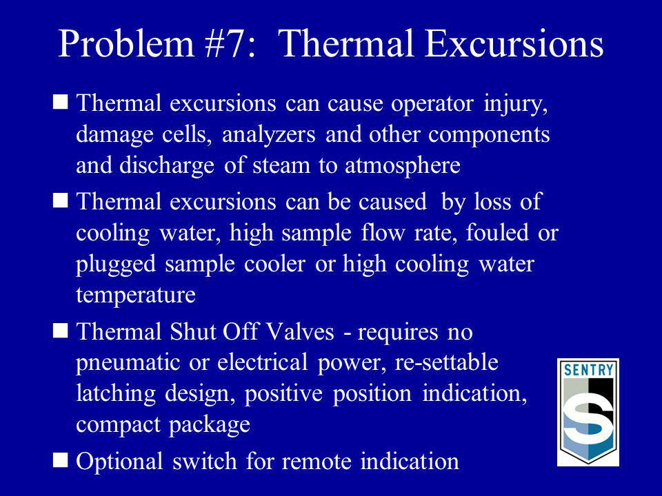 Problem #7: Thermal Excursions