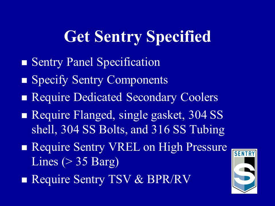 Get Sentry Specified Sentry Panel Specification