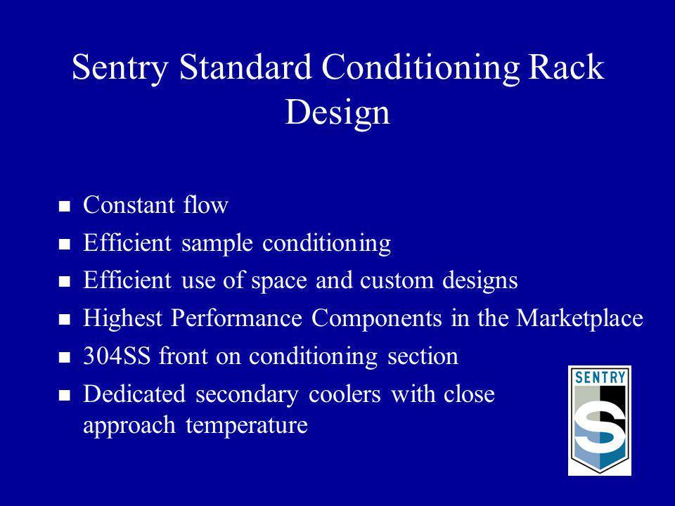Sentry Standard Conditioning Rack Design