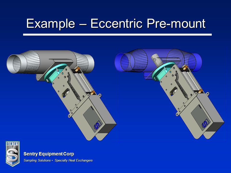 Example – Eccentric Pre-mount