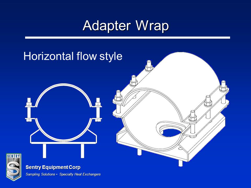 Adapter Wrap Horizontal flow style