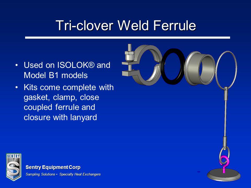 Tri-clover Weld Ferrule