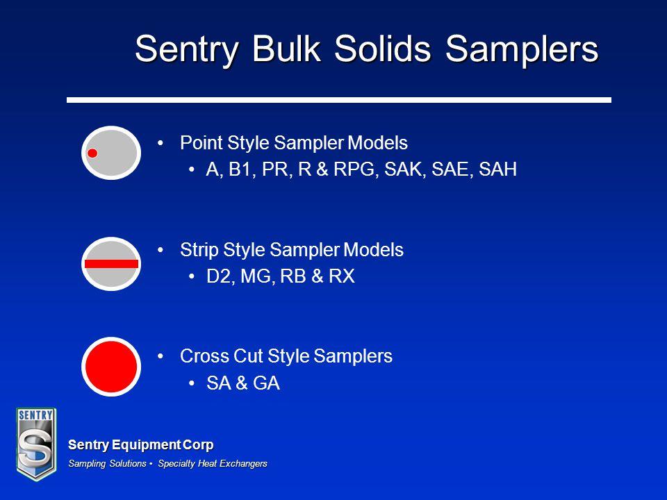 Sentry Bulk Solids Samplers