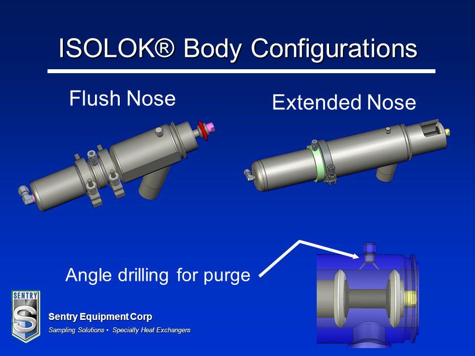 ISOLOK® Body Configurations