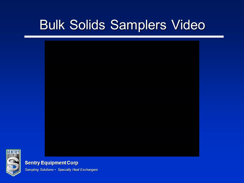 Bulk Solids Samplers Video