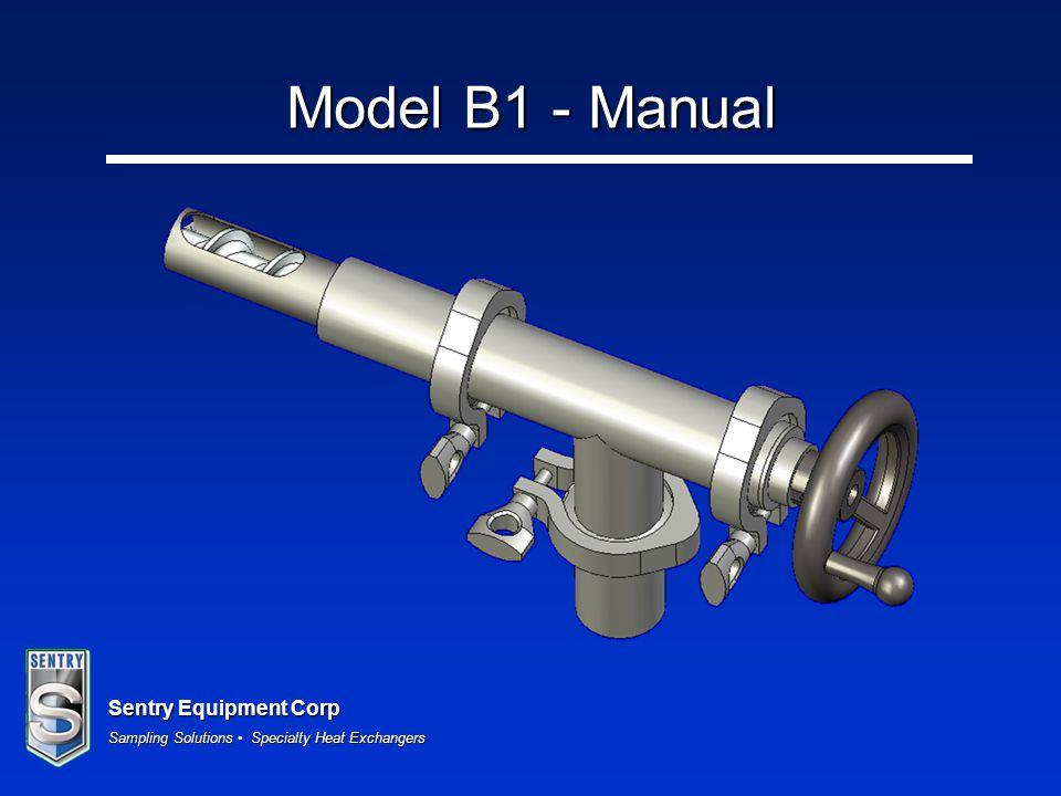 Model B1 - Manual
