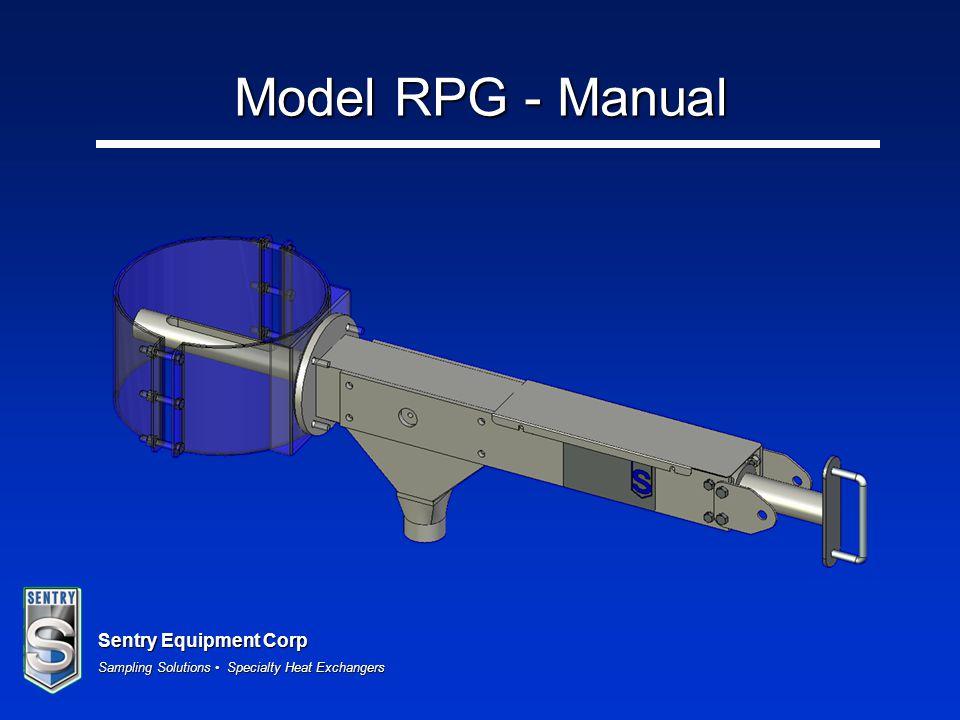 Model RPG - Manual