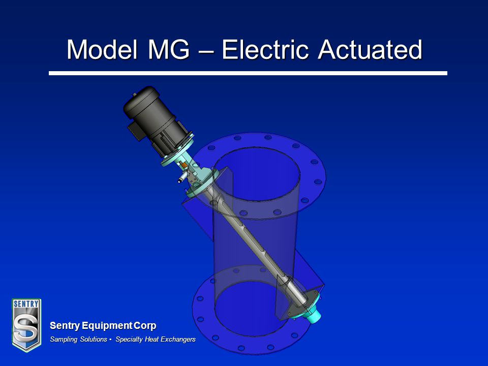 Model MG – Electric Actuated