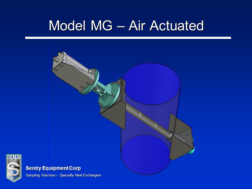 Model MG – Air Actuated