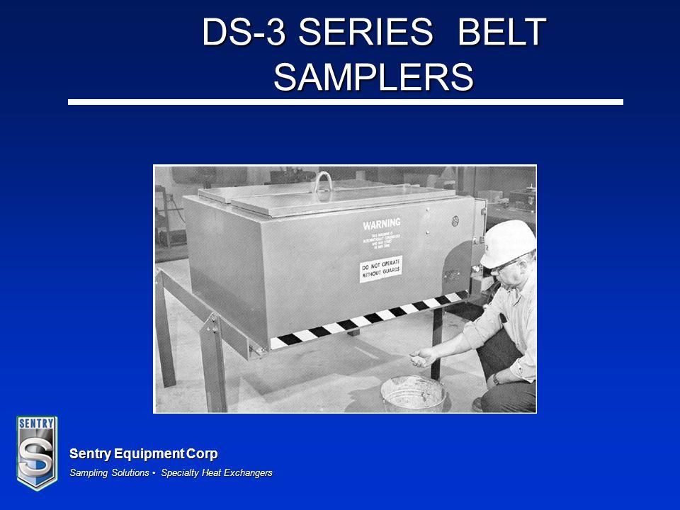 DS-3 SERIES BELT SAMPLERS