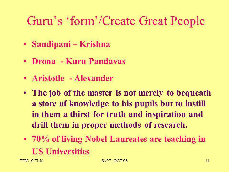 Guru's 'form'/Create Great People