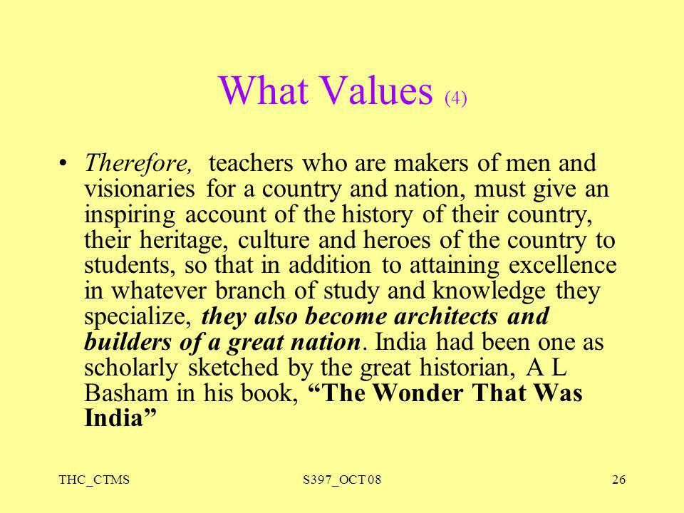 What Values (4)