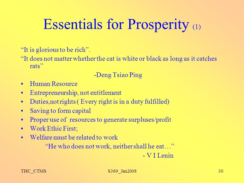Essentials for Prosperity (1)