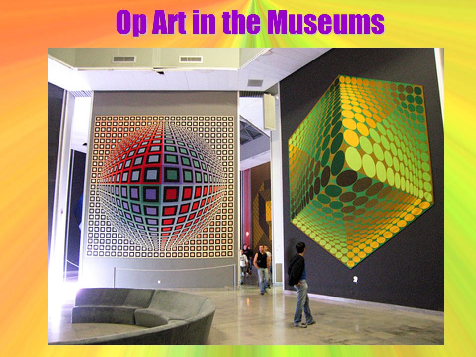 Op Art in the Museums