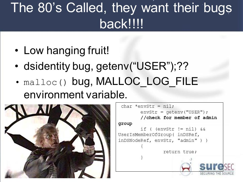 The 80's Called, they want their bugs back!!!!