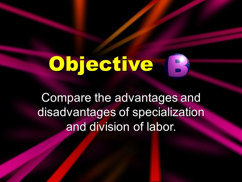 job specialization and the division of labour An aspect of the organization's internal environment created by job specialization and the division of labor integration the degree to which differentiated work units work together and coordinate their efforts.
