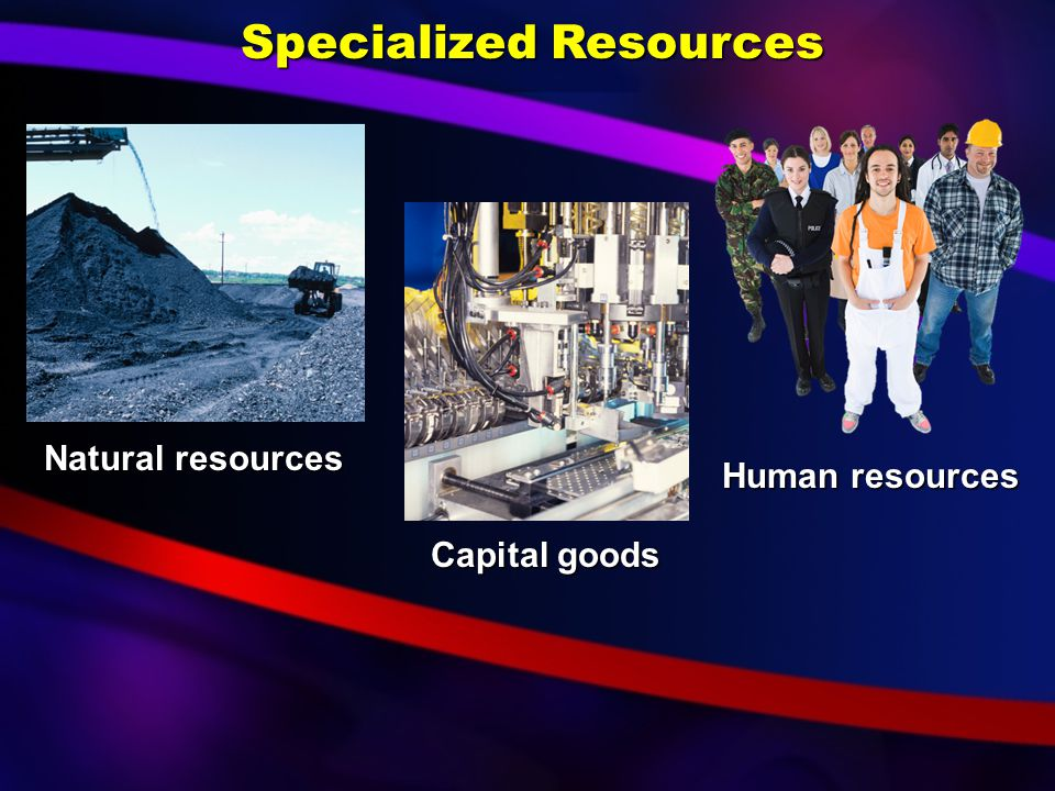 Specialized Resources