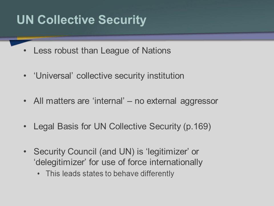UN Collective Security