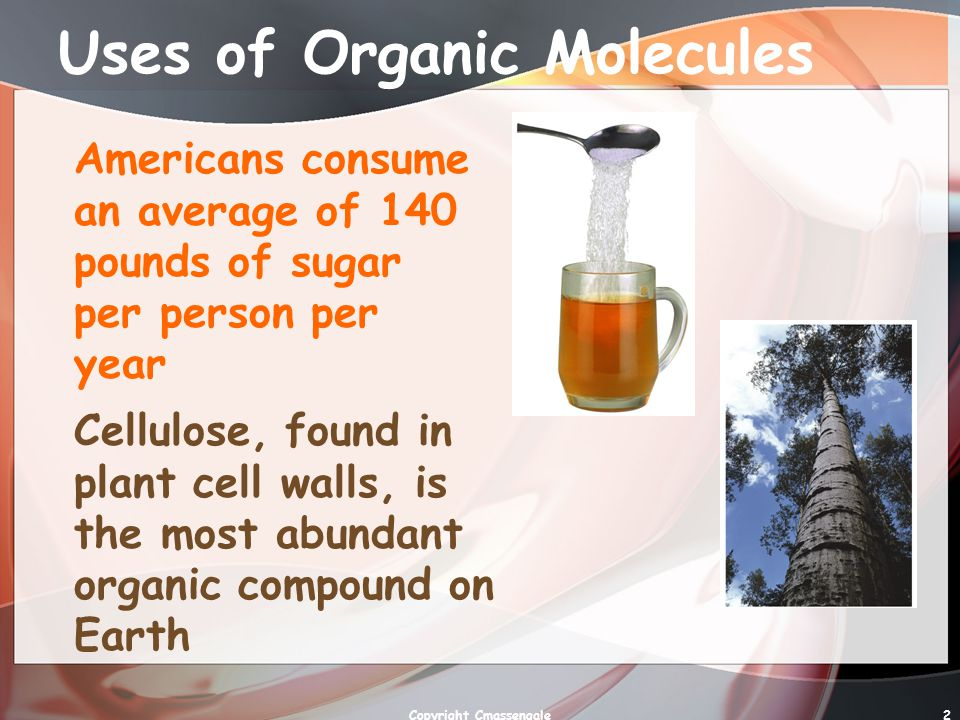 Uses of Organic Molecules