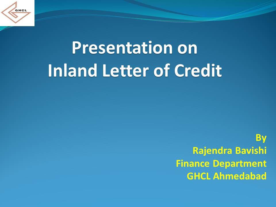 By Rajendra Bavishi Finance Department GHCL Ahmedabad