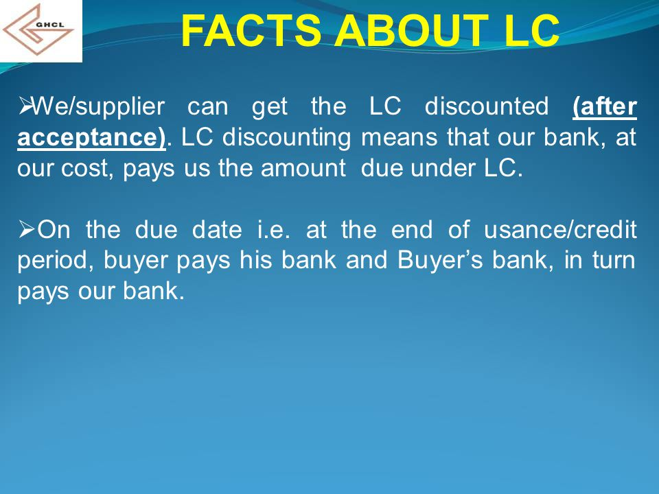 FACTS ABOUT LC