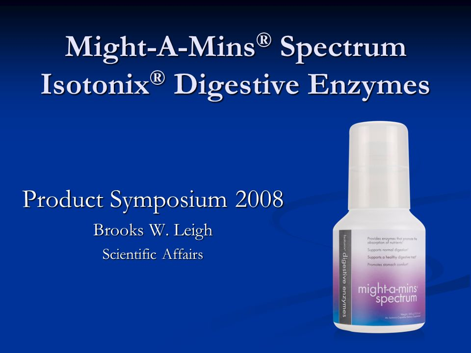 Might-A-Mins® Spectrum Isotonix® Digestive Enzymes