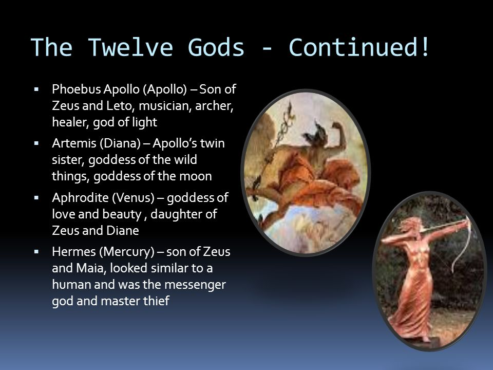 The Twelve Gods - Continued!