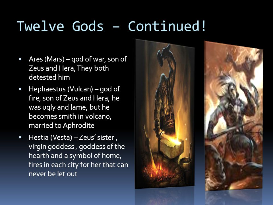 Twelve Gods – Continued!