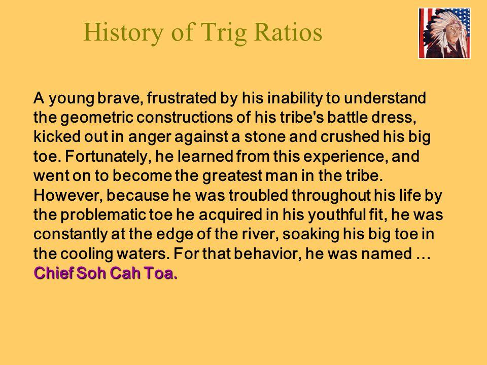 History of Trig Ratios