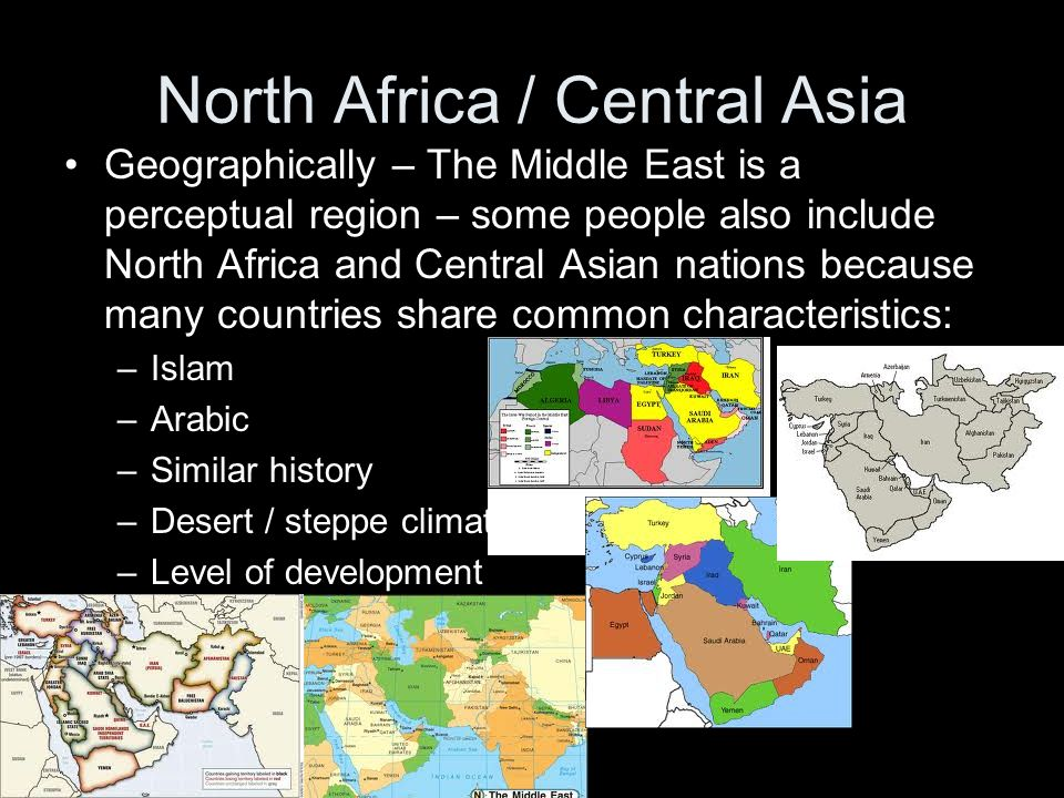 North Africa / Central Asia