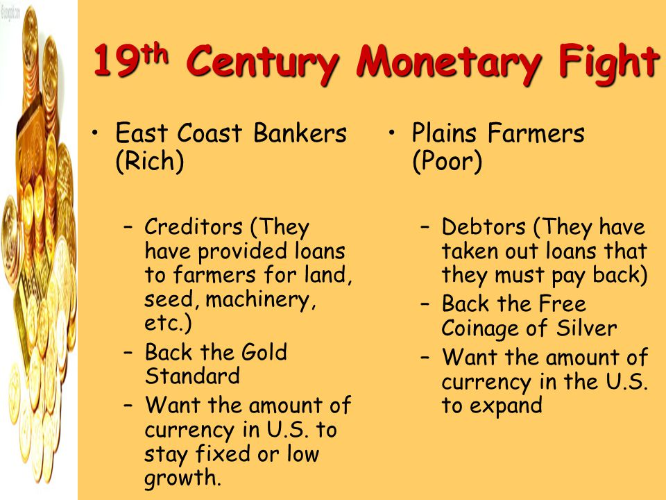 19th Century Monetary Fight