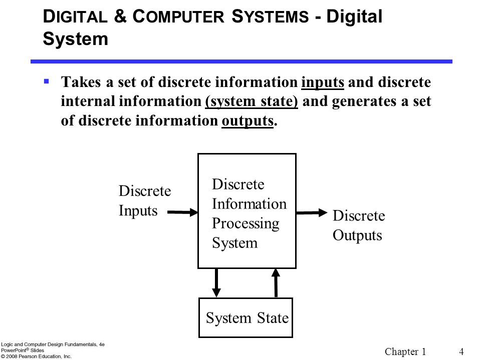 DIGITAL & COMPUTER SYSTEMS - Digital System