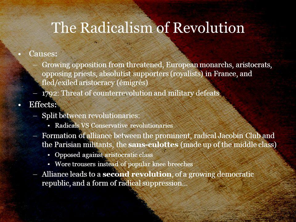 The Radicalism of Revolution