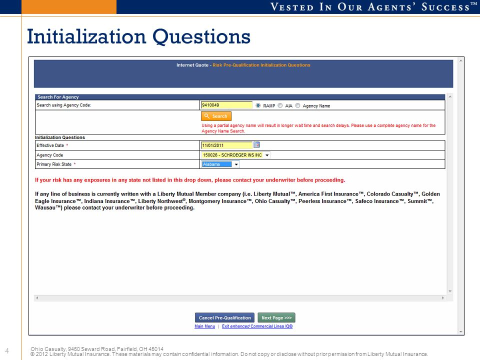 Initialization Questions
