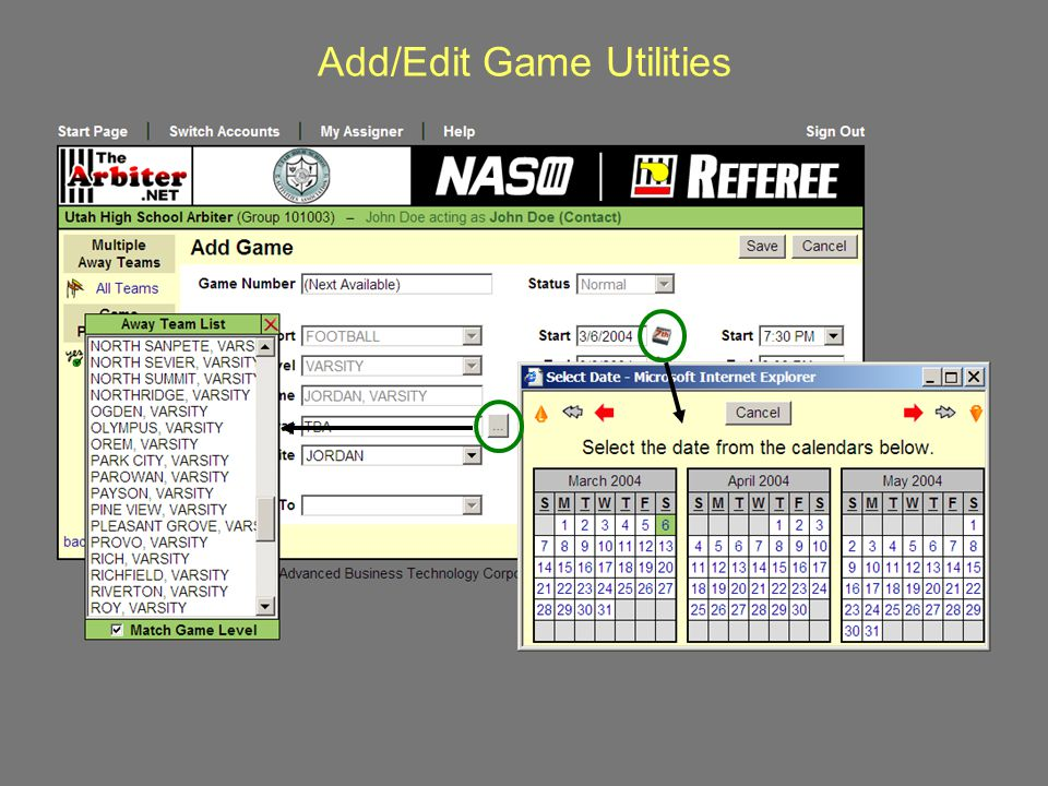 Add/Edit Game Utilities