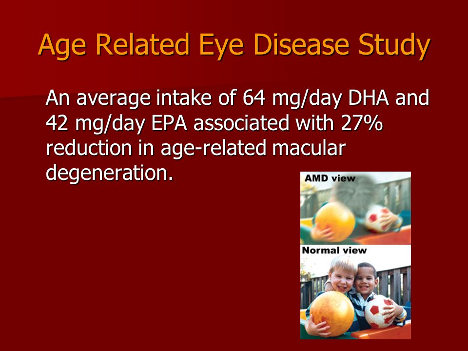 Age Related Eye Disease Study