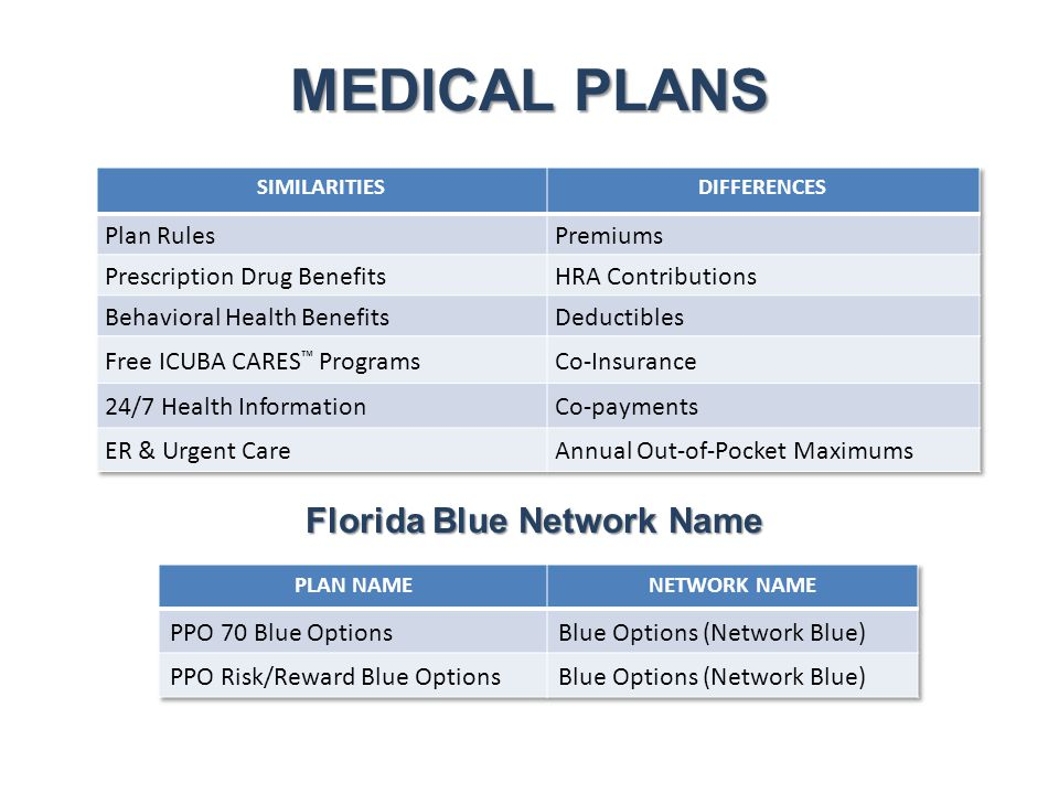 Florida Blue Network Name
