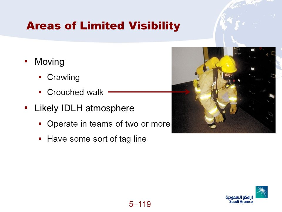 Areas of Limited Visibility