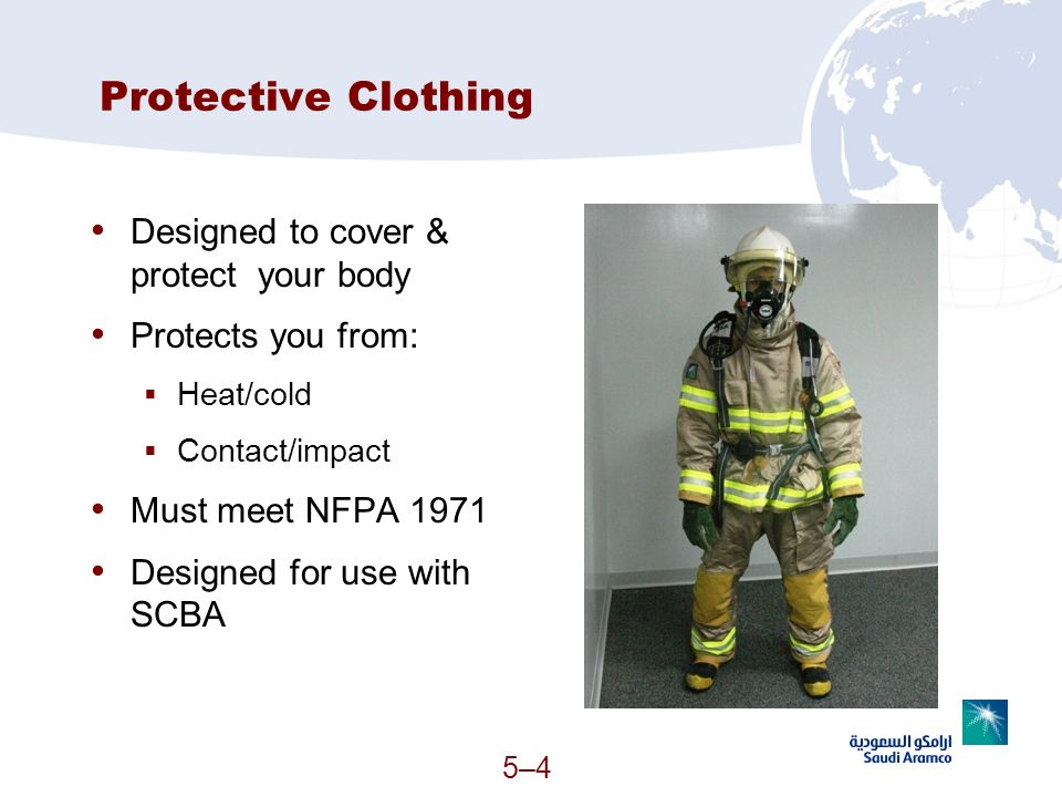 Protective Clothing Designed to cover & protect your body