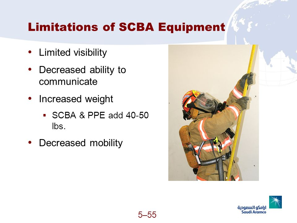 Limitations of SCBA Equipment