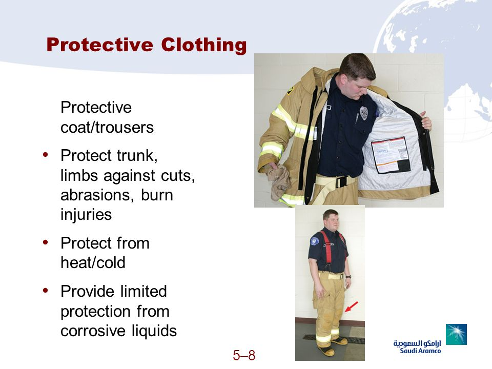 Protective Clothing Protective coat/trousers